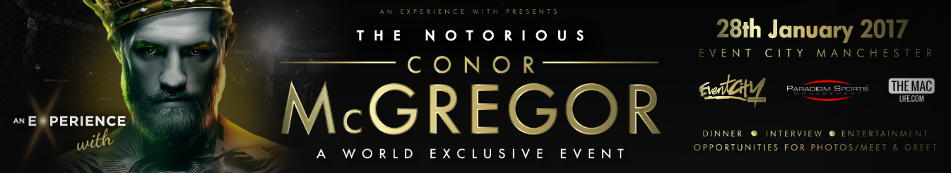 Watch Conor McGregor Live on January 28 - InPlayer Paywall