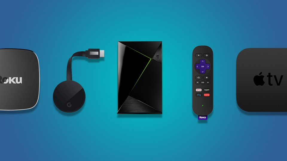 Major streaming devices