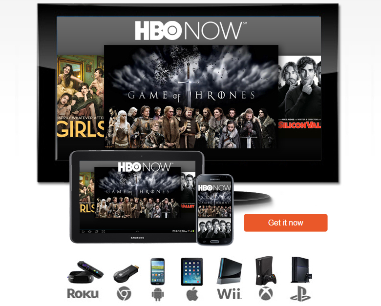 HBO Now Streaming Video Services