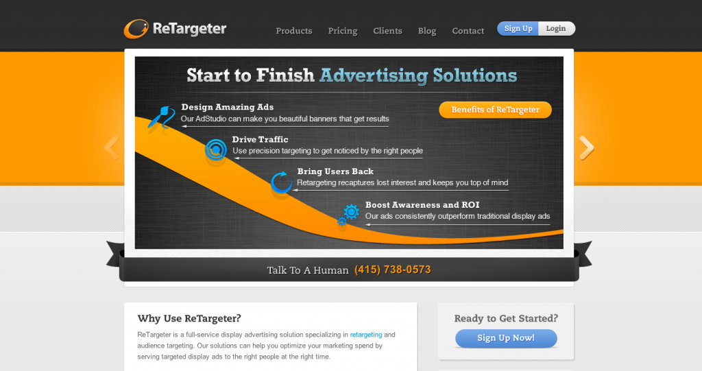 Retargeter Marketing Automation Tool