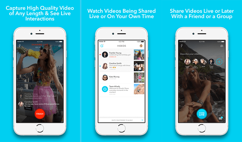 alively-mobile-live-streaming-app