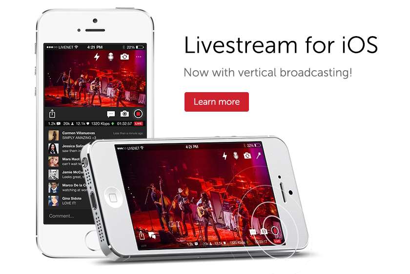 livesteam-mobile-live-streaming-app